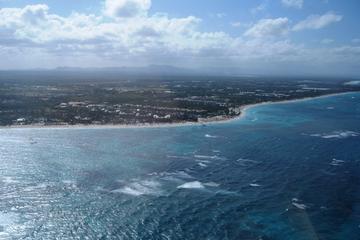 Survol en hélicoptère des plages de Punta Cana