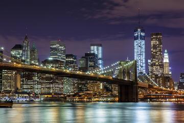Tour in autobus notturno di New York