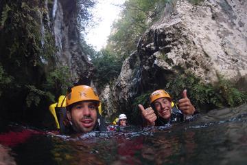Esperienza di canyoning per piccoli gruppi alla Serra de Tramuntana