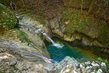 Abenteuertour zu den Damajagua-Wasserfällen ab Puerto Plata