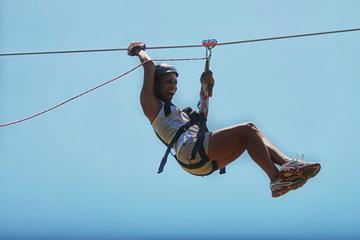 Aventure en tyrolienne à Monkey Jungle au départ de Puerto Plata