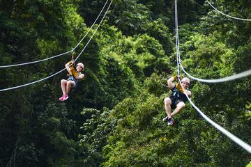 Zipline-eventyr i Punta Cana
