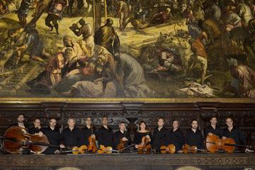 Barokconcert van het Interpreti Veneziani-ensemble in Venetië