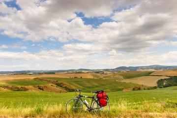 Visite en vélo de la campagne toscane à Florence, avec dégustation de...