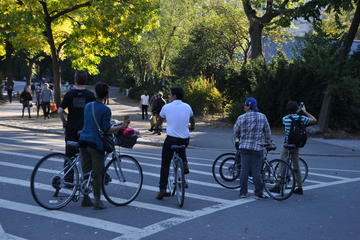 Private Central Park Bike Tour with Professional Photoshoot