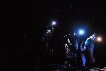 Excursão de caminhada à noite saindo de Santiago