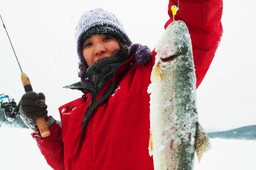 Day Trip 3-Hour Yukon Ice-Fishing Tour from Whitehorse near Whitehorse, Canada
