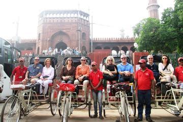 Excursión en grupo a la antigua Delhi...