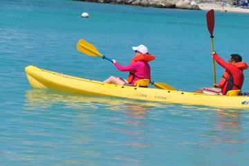 Kajak- en snorkel avontuur in Simpson Bay, Sint Maarten