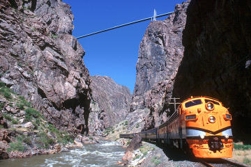 Canon City Whitewater Rafting with Train Ride