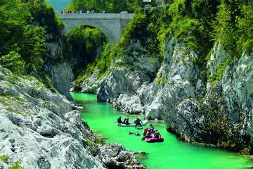 Emerald River and Kozjak Waterfall...