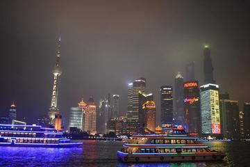 3-Hour Charming Night of Shanghai with Huangpu River Cruise