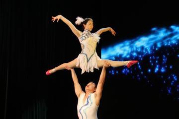 En kväll i Beijing med akrobatikshow ...