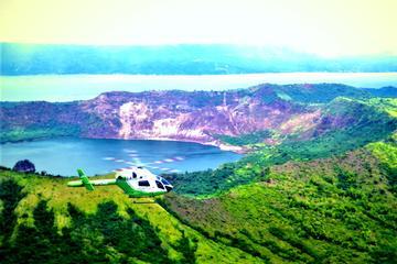Escapade di vulcano Taal (1 ora)