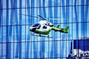 Recorrido en helicóptero por el metro...