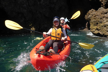 Sea Cave Kayaking at Channel Islands...