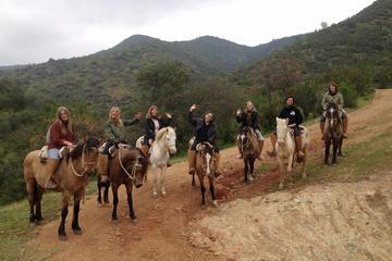 Tagesausflug mit Ausritt und Mittagessen auf der Ranch ab Santiago