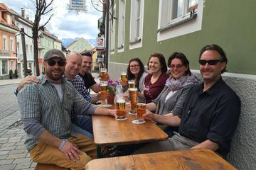 Private Brauereitour in den Alpen