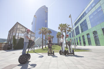 Tour guidato di Barcellona in Segway