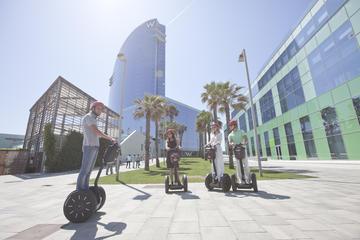 Tur med ståhjuling (segway) i Barcelona