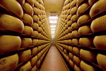 Experiência gastronômica em Bolonha: visita à fábrica com almoço...