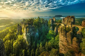 Excursion d'une journée dans les parcs nationaux de la Bohême et de...