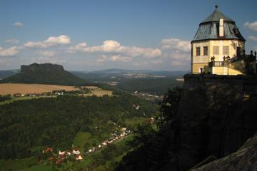Small-Group Bastei Bridge and Königstein Fortress Day Tour from Dresden