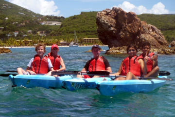 Lindbergh Bay Beach Kayak and Snorkel Tour