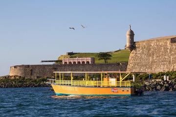 Narrated Sunset Boat Tour of San Juan