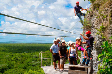 Aventura com Tirolesa e Hoyo Azul em Punta Cana