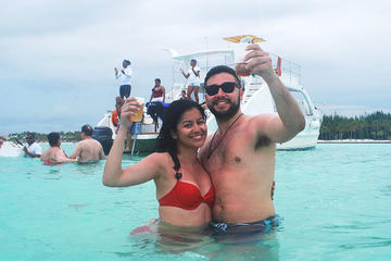 Cap Cana Seilrutschen- und Katamaran-Abenteuer ab Punta Cana