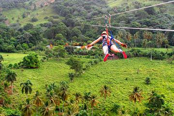 Punta Cana Extreme Swing and Zipline Adventure