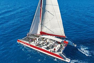 Half-Day Sailing Trip from Santorini with BBQ and Drinks