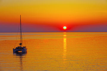 Santorini Sunset Luxury Sailing...
