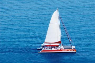 Tahiti 80 Sailing in Santorini Sunset