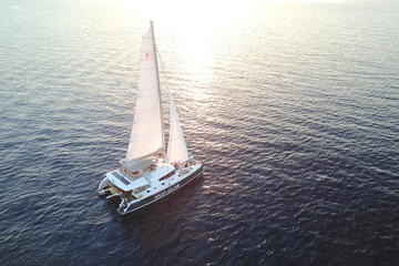 Viator Exclusive: Santorini Luxury Catamaran Sunset Cruise with BBQ and Drinks