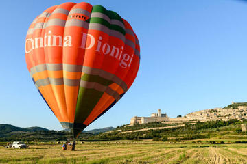 Hot Air Balloon Rides Over Assisi