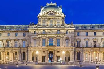 Biglietto saltafila per il Louvre con audioguida e crociera di un'ora