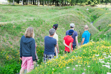 Small-Group WWI Somme Battlefields ...
