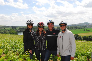 Sykkeltur til Champagne-regionen fra Paris