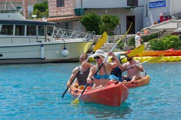 Tour combinato con giro dell'isola di Korcula in kayak e snorkeling