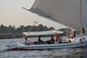 Felucca Fahrt auf dem Nil in Kairo