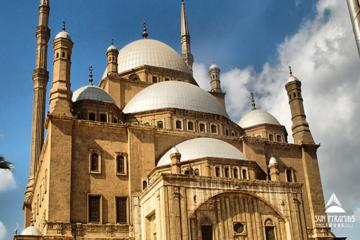 Old Cairo and Citadel in Egypt