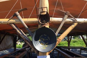 Criba de oro en batea en Seward