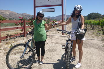 Wine Country Biking Tour in Santa Barbara
