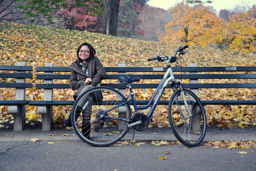 Aluguel de bicicletas no Central Park de Nova York