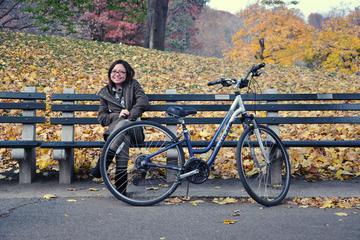 Fahrradverleih am Central Park in New...
