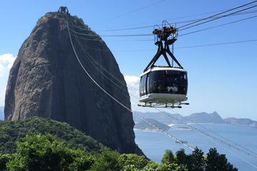 Meio dia de Pão de Açúcar e Corcovado com Estátua do Cristo no Rio