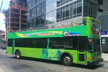Excursão com várias paradas de ônibus pelo centro da Cidade de Nova...