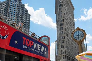 New York City Hop-On Hop-Off Bus Tour Downtown
